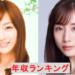 女子アナ年収ランキング2020 田中みな実 アイドル越えの写真集が凄いことに 新井恵理那は?!